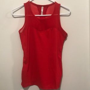 fablectics tank top (red)